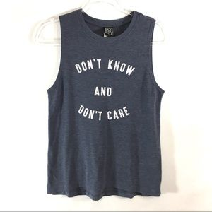 Modern Lux Don't Know Don't Care Graphic Tee 🐥